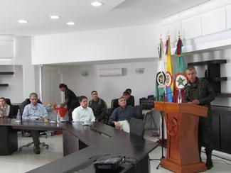 11.7.2014 Colombia CODEL Colombian National Police Special Operation Center