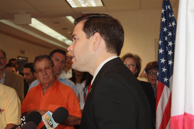 Event_Sen. Rubio speaking at Miami Office